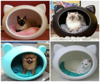 cama-cueva-moderna-gatos-perros